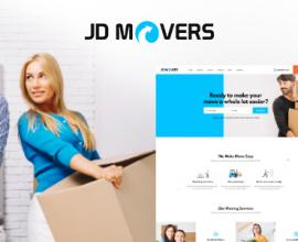 Joomla Free Template - JD Movers – Joomla Template for Packers and Movers