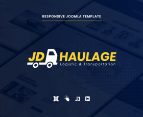 Joomla Free Template - JD Haulage - Logistic & Transportation Services Joomla Template