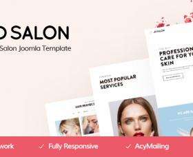Joomla Free Template - JD Salon - Joomla Template for Beauty, Spa & Hair Salon