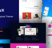 Joomla Free Template - JD BizX - One Page Business Joomla Template