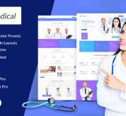 joomdev Joomla Template: JD Medical Free