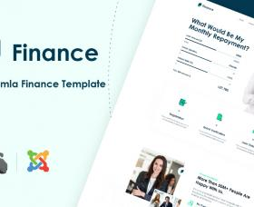 Joomla Templates: JD Finance - Finance & Business Consulting Joomla Template