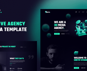 Joomla Templates: JD Cretiv - Creative Agency Joomla Template