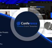 Joomla Free Template - JD Conference