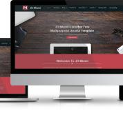 Joomla Free Template - JD Miami