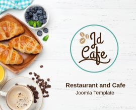 Joomla Free Template - JD Cafe - Restaurant and Cafe Joomla Template