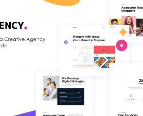 Joomla Templates: JD Agency - Creative Agency Joomla Template