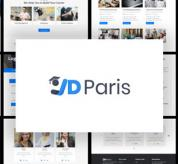 Joomla Templates: JD Paris - Free School Joomla Template