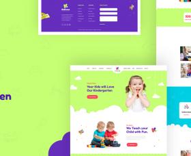 joomdev Joomla Template: JD KidZone - Kindergarten & Pre-school Joomla Template