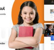 Joomla Premium Template - JD Gurukul - Responsive Joomla Template For School Websites