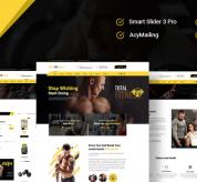 Joomla Premium Template - JD Fitness - Best Gym & Fitness Joomla Template