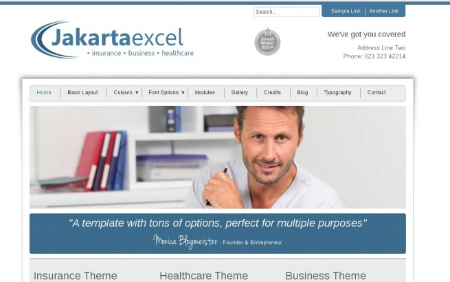 Joomla Template: Jakarta Excel