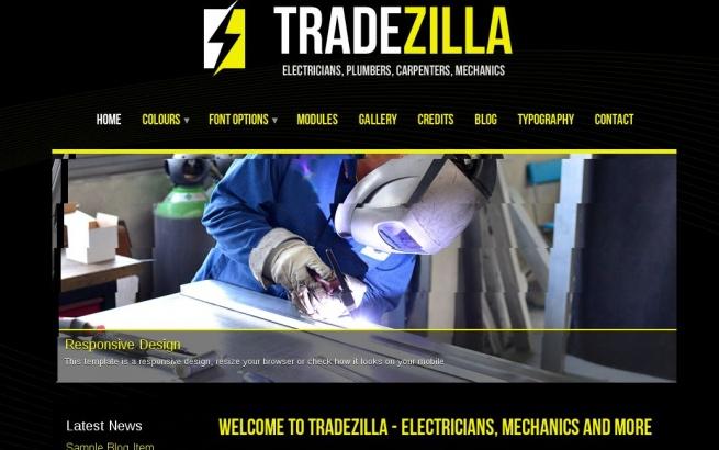 Joomla Template: TradeZilla