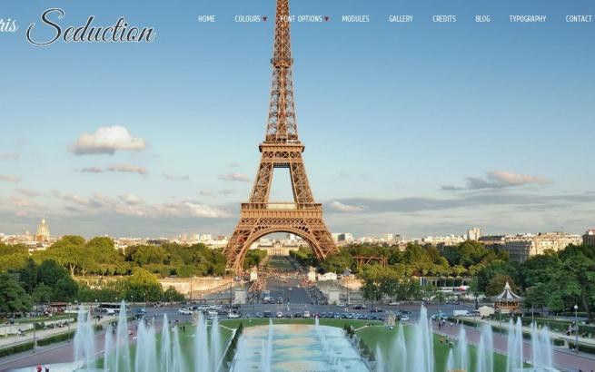 Joomla Template: Paris Seduction