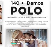payothemes Joomla Template: Polo - Responsive Multi-Purpose Joomla Theme With Page Builder