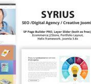 payothemes Joomla Template: Syrius - SEO /Digital Agency / Creative Joomla Theme