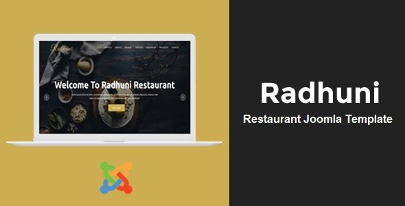 Joomla Template: Radhuni - Multipurpose Business Joomla Theme
