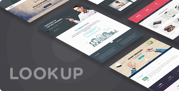Joomla Template: LookUp - Responsive Multi-Purpose Joomla Theme With Page Builder