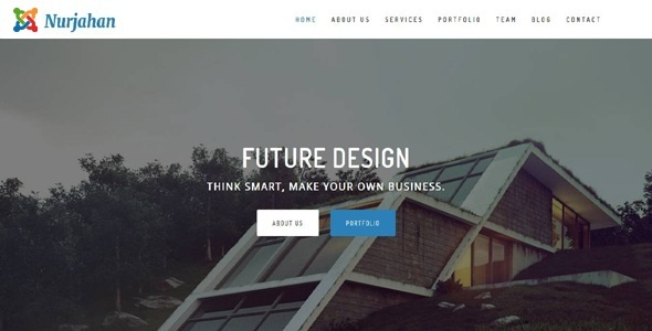 Joomla Template: Nurjahan - Creative Architecture & Interior Business Joomla Theme