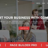 Joomla Premium Template - Comilla - Digital Agency One Page Business Joomla Theme