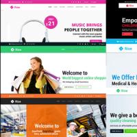 Windstripe Themes Joomla Template: Rise - Responsive Multi-Purpose Creative Joomla Theme