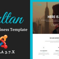 Joomla Premium Template - Sultan - One Page Business Multi-Purpose Joomla Theme