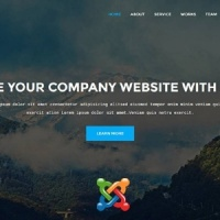 Joomla Premium Template - Alvida - One Page Business Joomla Theme