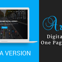 Joomla Premium Template - Ariana - Digital Agency One Page Joomla Theme