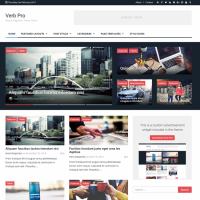 Wordpress template Verb
