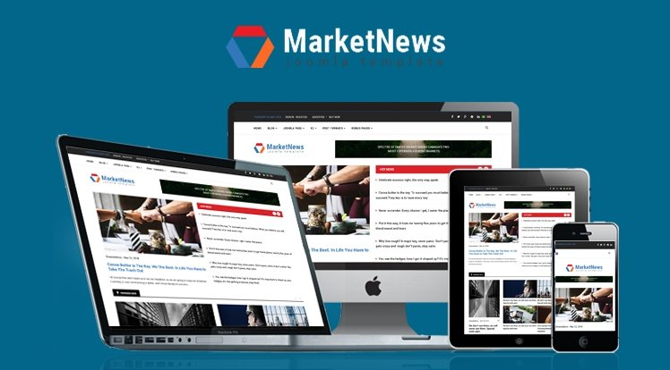 Joomla Template: Sj MarketNews