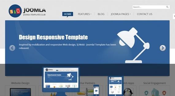 Joomla Template: SJ Joomla3 - Best free responsive Joomla 3.x template