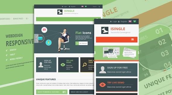 Joomla Template: SJ iSingle - A sophisticated Joomla template