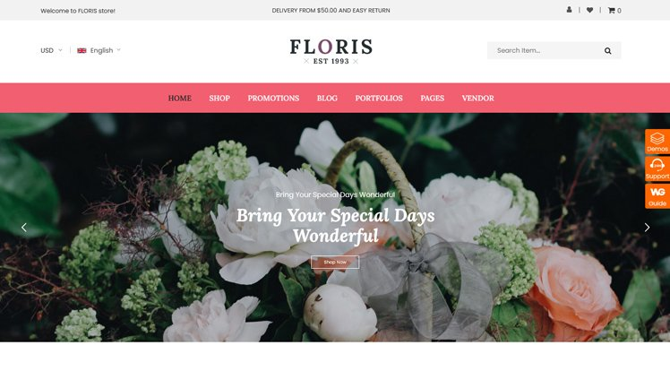 Wordpress Theme: Sw Floris Free
