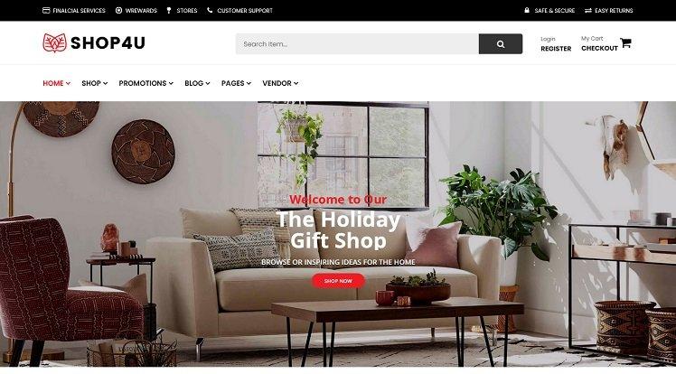 Wordpress Theme: Shop4U Free