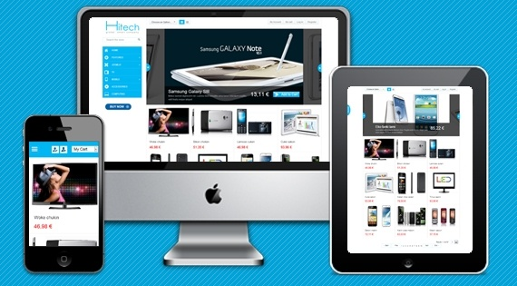 Joomla Template: SJ AppStore HiTech - A special template for Ecommerce stores
