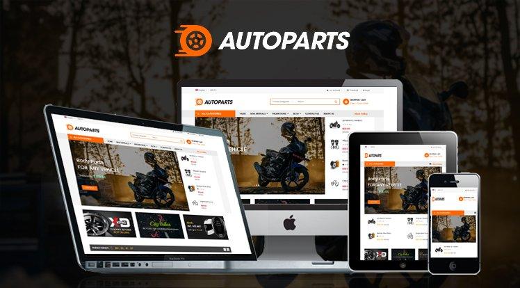 Joomla Template: Sj Autoparts