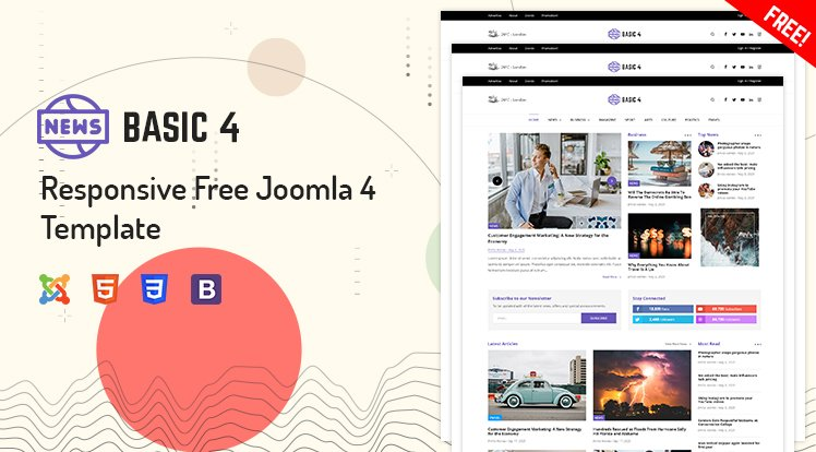 Joomla Template: Sj Basic4