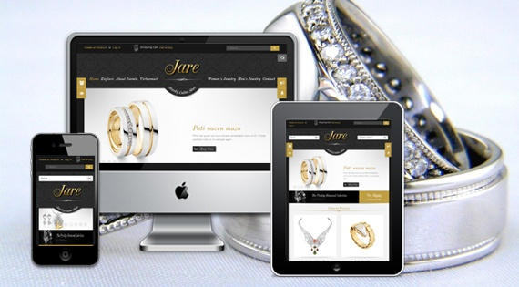 Joomla Template: SJ Jare - Luxurious Joomla template for high-end products