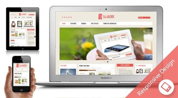 Joomla Template: SJ Mobi - Professional Joomla technology template