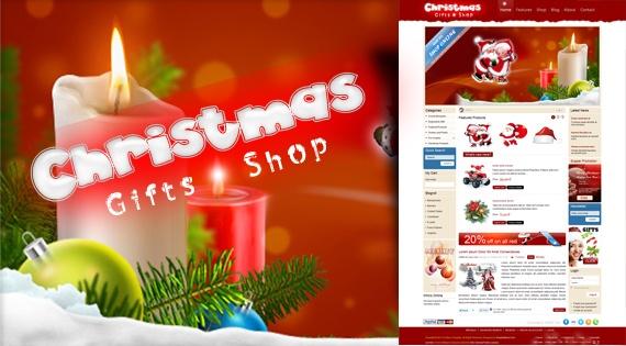 Joomla Template: SJ Merry Christmas - Ecommerce Joomla shop template with VirtueMart