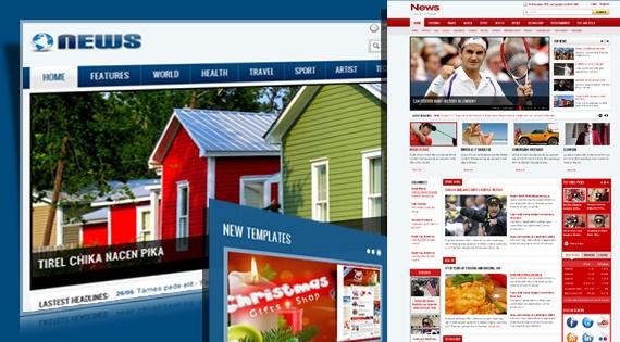 Joomla Template: SJ News - Free responsive news portal Joomla template