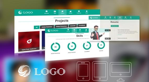 Joomla Template: SJ Onepage - Responsive Joomla Template for Portfolio Website