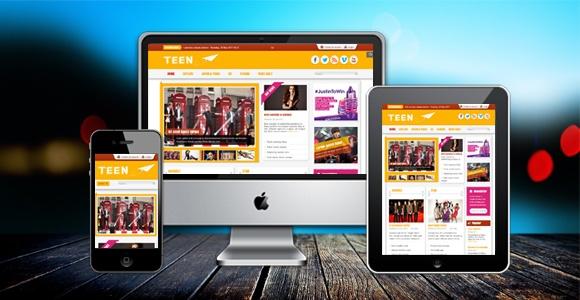 Joomla Template: SJ Teen - A Template for modern sites