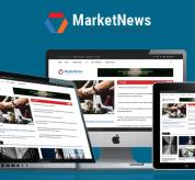 SmartAddons Joomla Template: Sj MarketNews