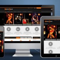 SmartAddons Joomla Template: SJ Muzik - Responsive Joomla Temlate