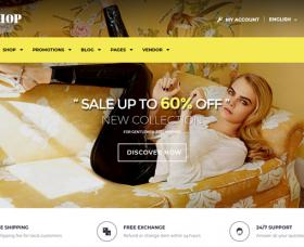 WordPress Themes: DresShop Free