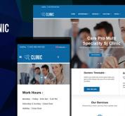 SmartAddons Joomla Template: Sj Clinic