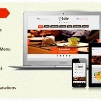 SmartAddons Joomla Template: SJ Lotte - The best Joomla restaurant template for K2