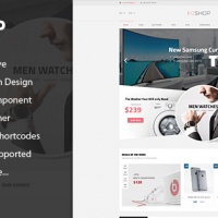 SmartAddons Joomla Template: SJ H2shop - Responsive Multipurpose VirtueMart 3 Template