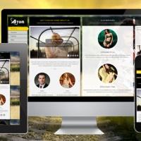 SmartAddons Joomla Template: SJ Atom - Responsive Joomla Template